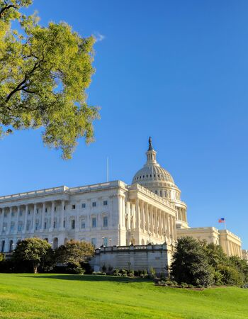 The United States Capitol Building in Washington, DC. Banque d'images