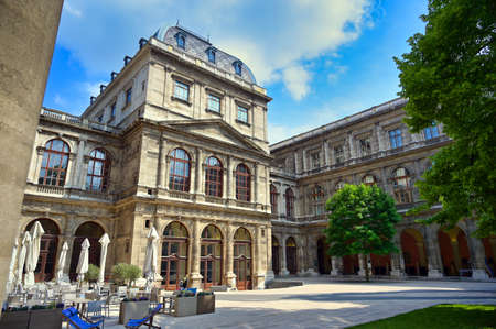 Vienna, Austria - May 19, 2019 - The University of Vienna is a public university located in Vienna, Austria.