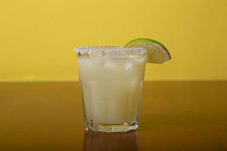 Homemade exotic alcohol cocktail, margarita
