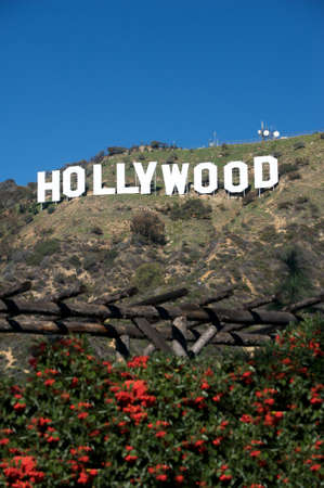 oscars: Hollywood, California - February 10, 2010: The Hollywood sign, built in 1923, is shown as Hollywood gets ready to host the 82nd Academy Awards. Photo taken on February 10, 2010. Hollywood, California. Editorial