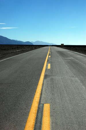 infinite road Stock Photo