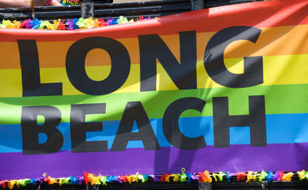 Long Beach Lesbian and Gay Pride Parade 2012 banner