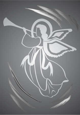 Angel, holy figure Stock Vector - 2413912