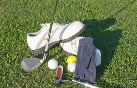 Equipment for the sport of golf photo