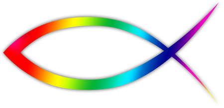 christendom: A Christian fish symbol