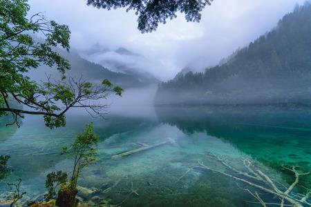 Landscape view of mirror lake