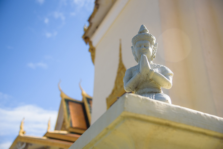 The statue of Buddha in The Grand Palace, Kampuchea Editorial