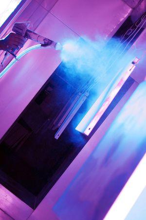 coating: spray paint Stock Photo