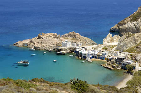 clear waters: Firopotamos Beach is the classic image of heavenly place with crystal clear turquoise waters