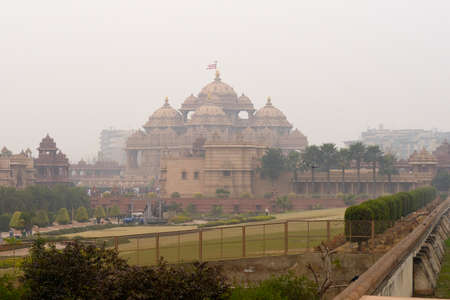 Akshardham is a Hindu temple again recently built in the area of   New Delhi  photo