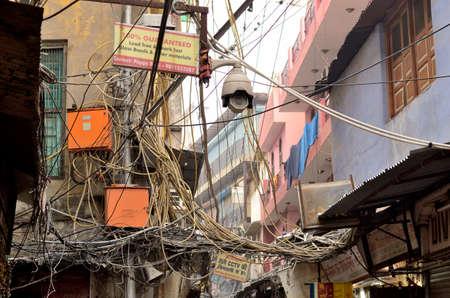 delhi india feb 8 2014 the image represents the usual mess stock rh 123rf com