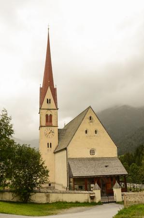 tirol: Beautiful church in Alps mountailns, Tirol, Austria