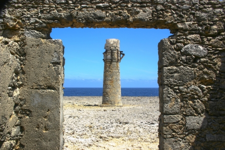 guiding light: Stone Lighthouse Ruins by Oceanside
