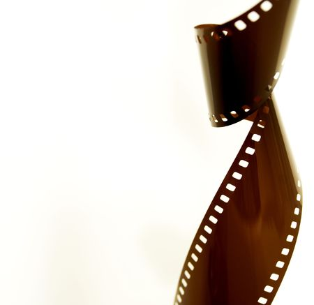 Film Strip Isolated