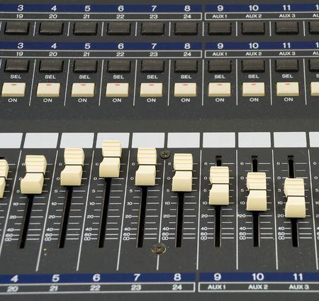 Recording Levels Close up