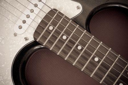 Elektrische gitaar achtergrond