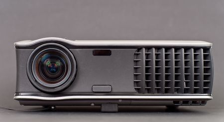 Front Perspective of High Definition Video Projector Stock Photo - 8017026