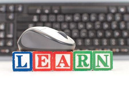 Learning to Use the Computer Reklamní fotografie