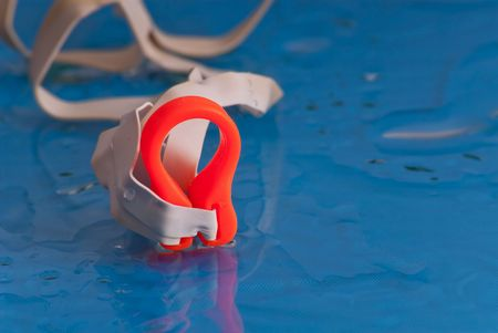 nose plugs: Swimmers Nose Clip