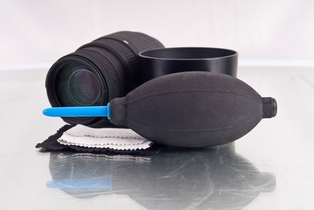 Air Blower Camera Lens Dust Cleaner photo