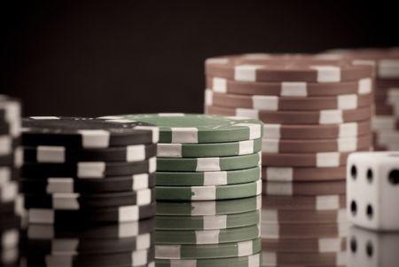 habit: Gambling habit Conceptual Image
