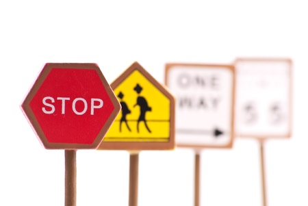 Red Traffic Stop Sign Stock Photo - 8278571