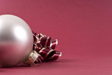 Christmas Ball Decoration with Custom Space photo