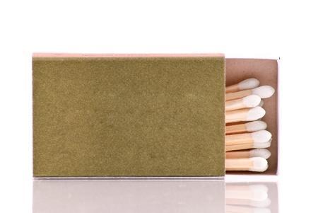 pyromaniac: Box of Matches Stock Photo