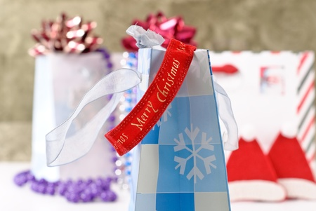Christmas Decorative Ribbon Stock Photo - 8392885