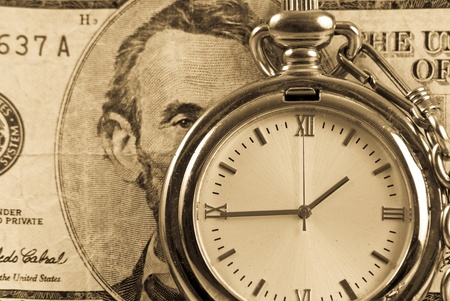 Time is Money Investment Concept