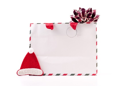Christmas Gift Bag with Holiday Assets Stock Photo - 8446268