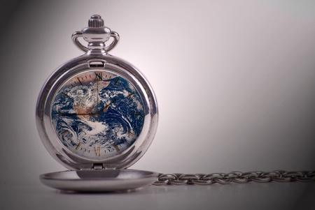 Time Upon The World Conceptual Image