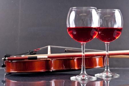 Sensuele dineren voor twee conceptuele afbeelding