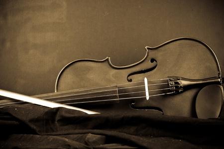Immagine astratta di sfondo strumento musicale (violino) Archivio Fotografico - 8592341