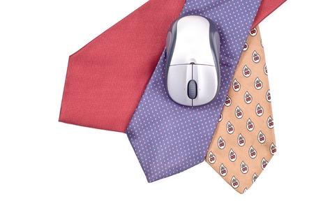 Business Attire Concept with Neck Tie Accessory Stock Photo - 8677916