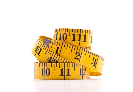weight reduction plan: Yellow Tape Measure