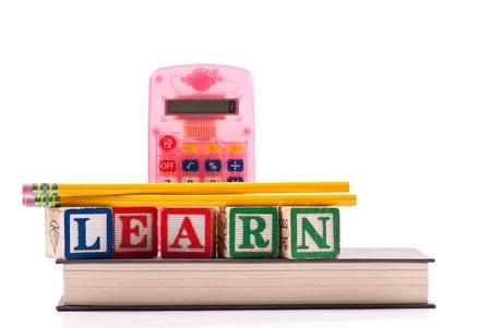 Basic Mathematics Education Concept Stock Photo