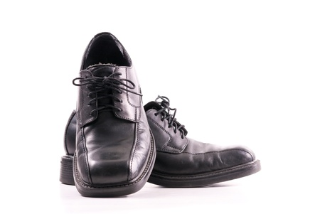 mens: Mens Fashion Dress Shoe Stock Photo