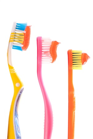 Daddy, Mommy and Kids Tooth Brush