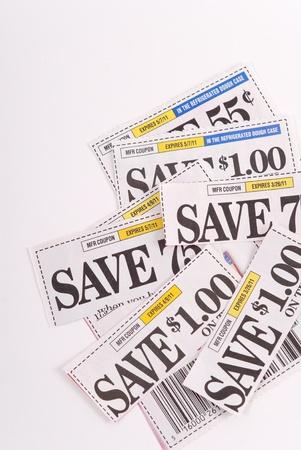 Geld besparen met coupons