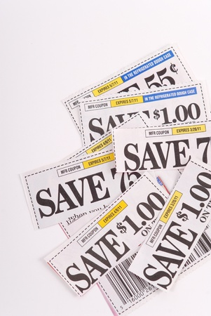 Saving Money with Coupons photo