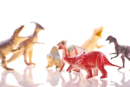 triassic: Toy Triceratops Figure