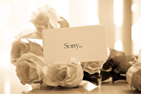 The Apology Note photo