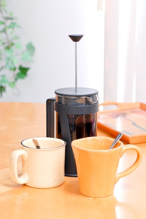 nook: French Press Coffee for Two