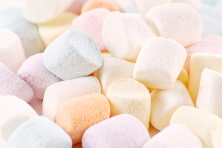 Colorful Marshmallows photo