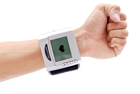 Blood Pressure Wrist Monitor Stock Photo - 9373459