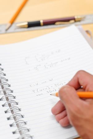 Doing Math Stock Photo - 9420355