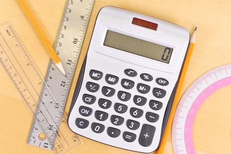 Basic Math Tools Stock Photo - 9441616