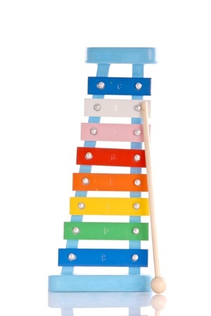 clang: Kids Toy Xylophone Stock Photo