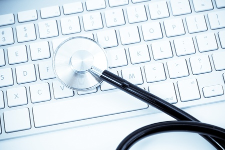 troubleshooting: PC Health Check Stock Photo